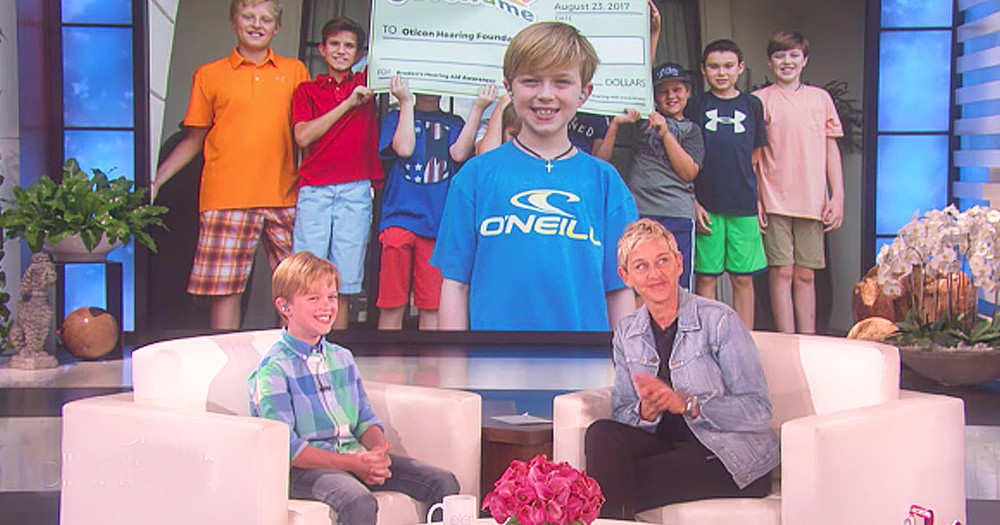 Kind 10-Year-Old Boy Raised Over 20k For Hearing Impaired Kids