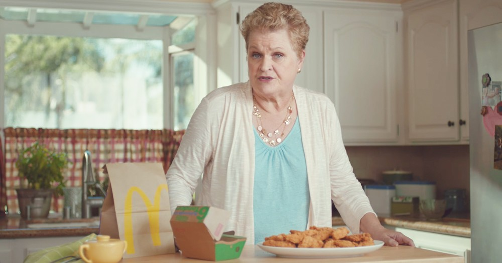 Funny Grandma Chooses Life Over Cooking In Clever TV Ad
