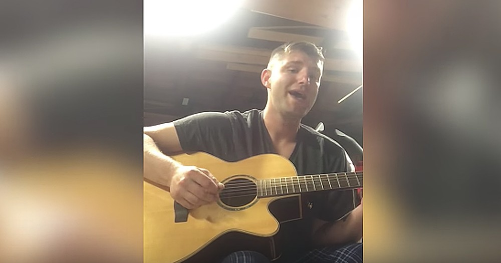 Navy Dad Writes Heartfelt Song For Sons Before Deployment