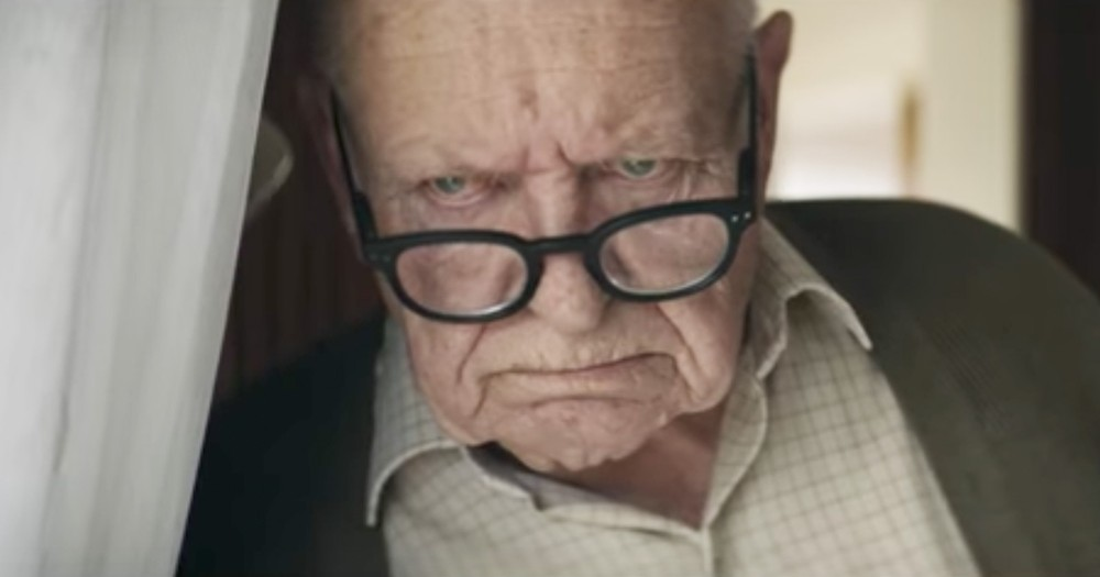 Grumpy Old Man On A Mission To Save Christmas Gets A Big Surprise