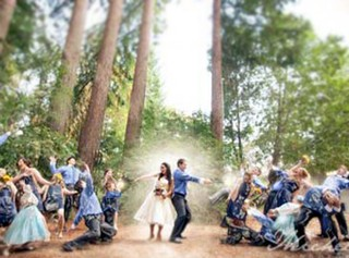 14 Unique Wedding Photos Will Make You Smile :)
