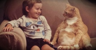 This Little Boy And His Furry Best Friend Are Too Cute For Words!