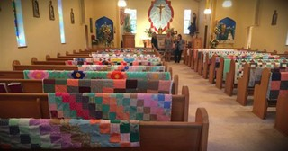 Family Honors Grandma By Displaying Quilts At Her Funeral