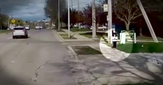 Heroic Bus Driver Saves Little Girl Wandering Alone Near A Busy Street
