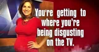 Pregnant News Anchor Response To Body Shammers