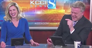 News Anchors Burst Into Laughter At Hilarious Dog