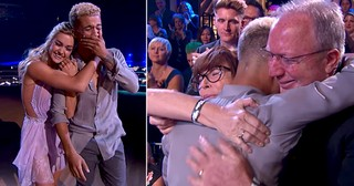 Super Star Shares His Emotional Adoption Story Through Dance On DWTS