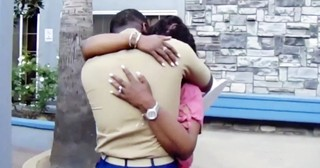 Marine Son's Surprise Homecoming Leaves His Mama In Tears