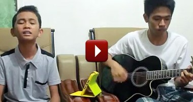 Two Cousins Sing a Christian Song That'll Send Chills Up Your Spine