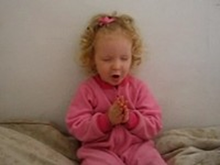 You're Never Too Young to Say the Lord's Prayer