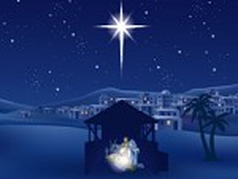 Beautiful Graphic Depicts the Nativity Scene
