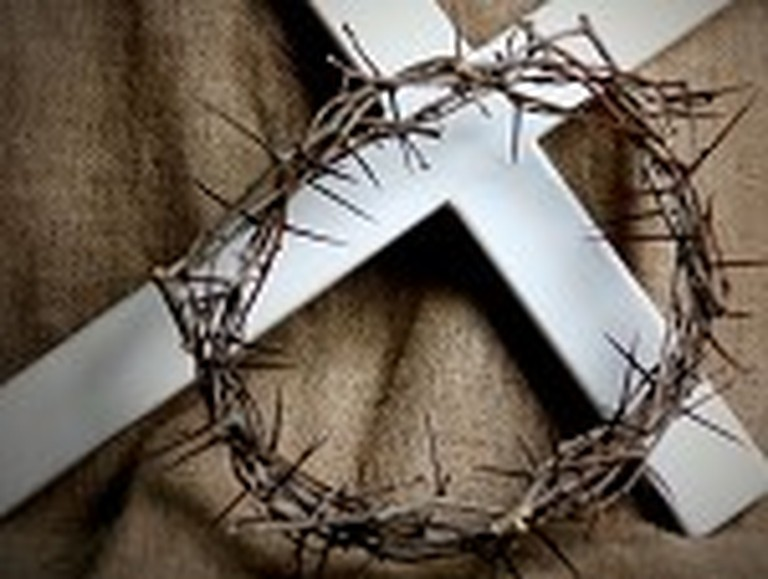 The Crown of Thorns with the Cross