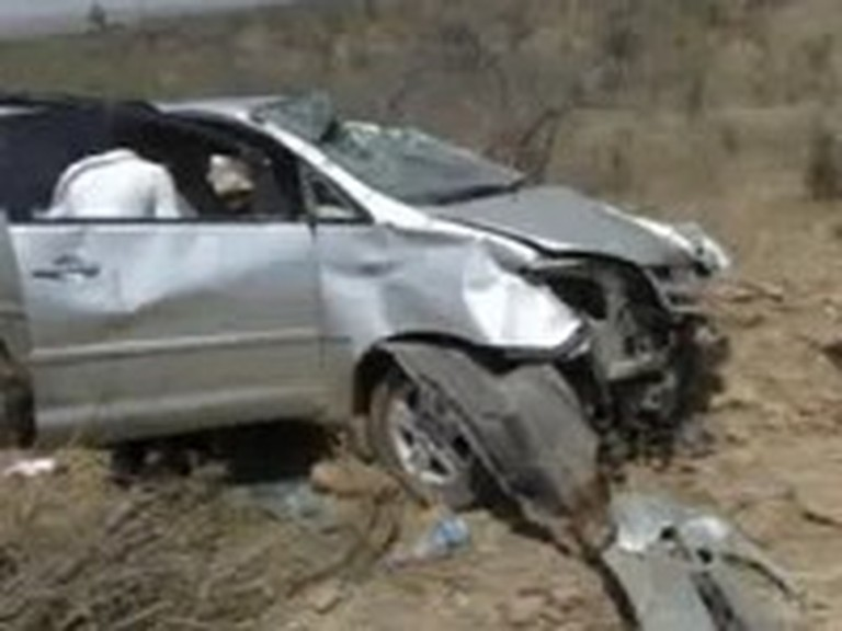 Pastor and his Family Miraculously Survive an Accident