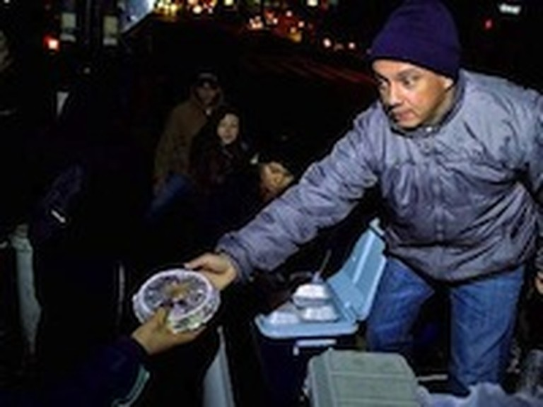 Bus Driver in New York Feeds Thousands of People