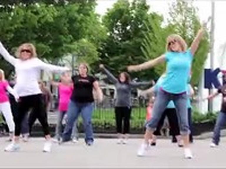 Pregnant Women Celebrate Life as a Flash Mob