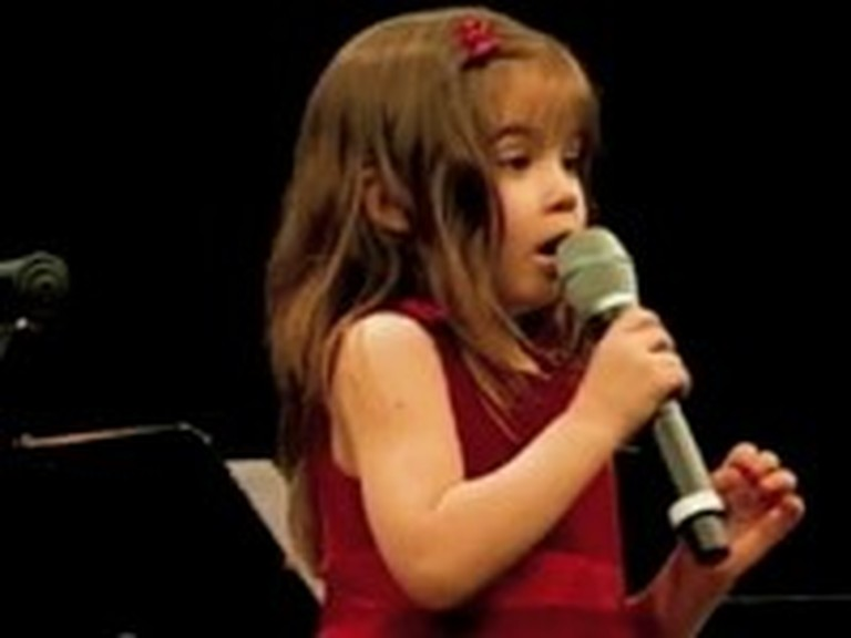 Young Singer Kaitlyn Maher Performs Ave Maria