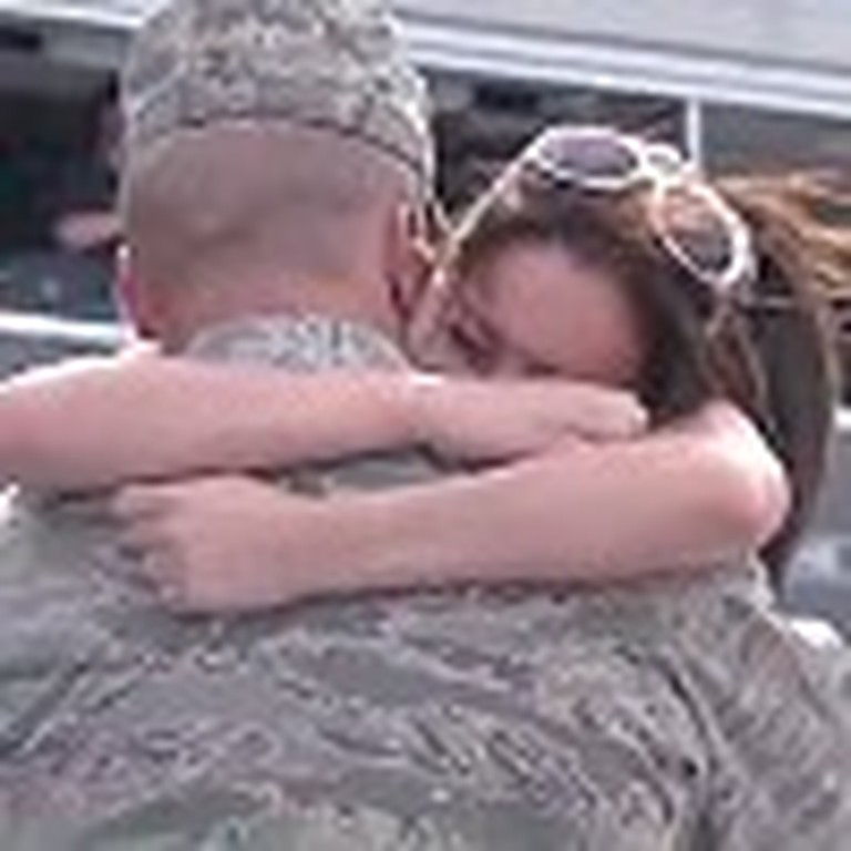Soldier Surprises his Girlfriend with a Proposal