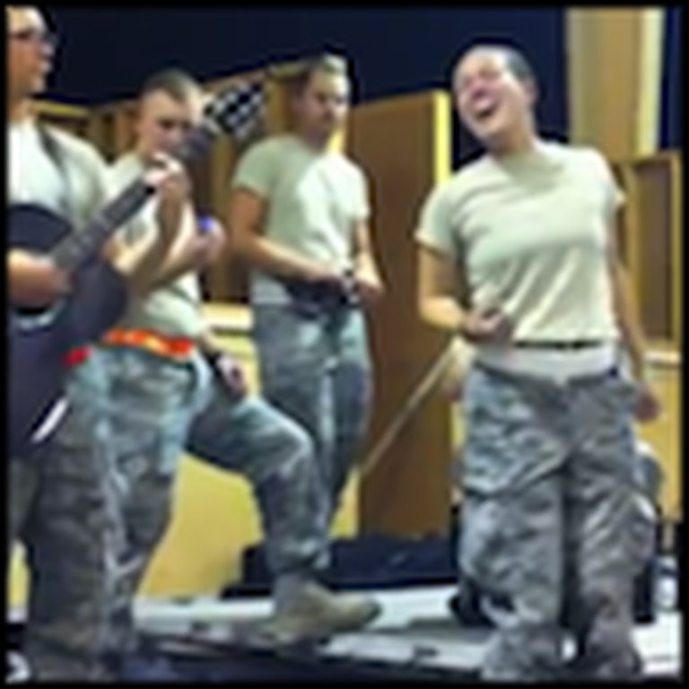 Members of the Air National Guard Put on a Great Performance