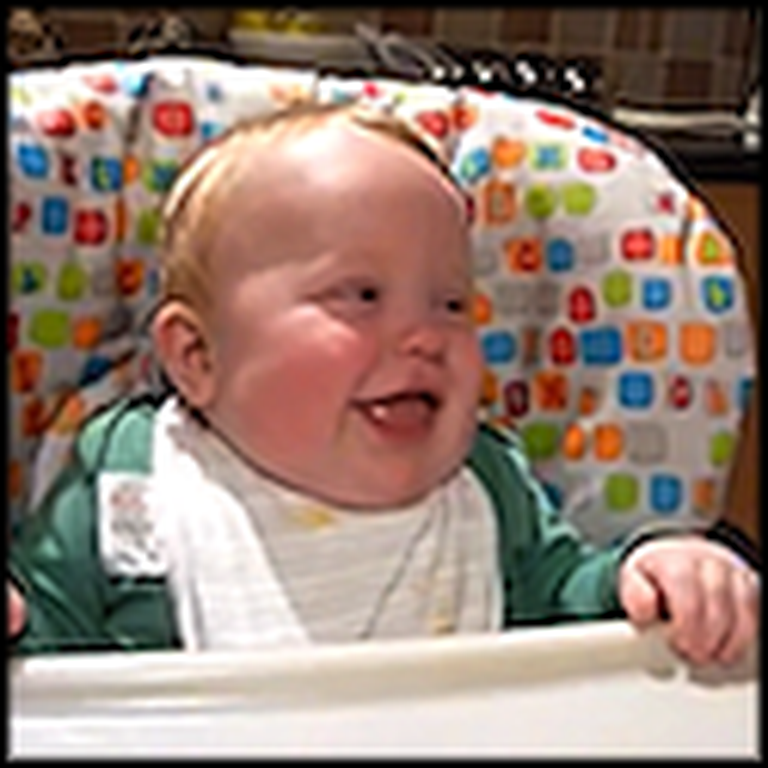 Owen the Giggling Baby Will Brighten Your Day