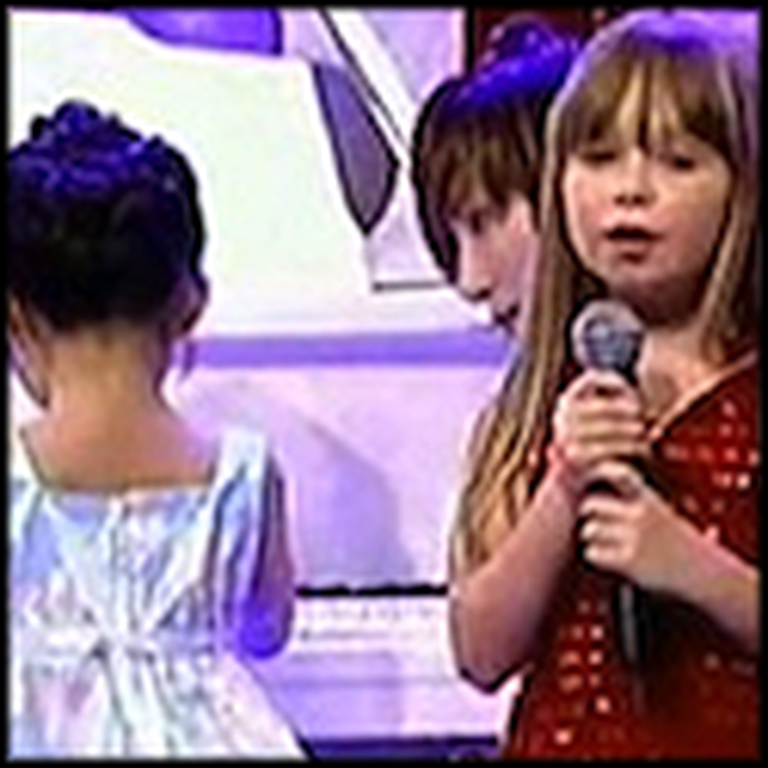 7 Year Old Singer and 5 Year Old BLIND Pianist's Very Moving