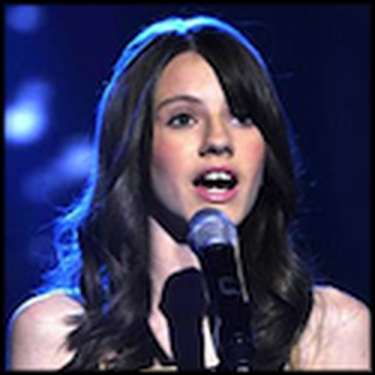 Faryl Smith's Wonderful Performance of Amazing Grace at Age 14