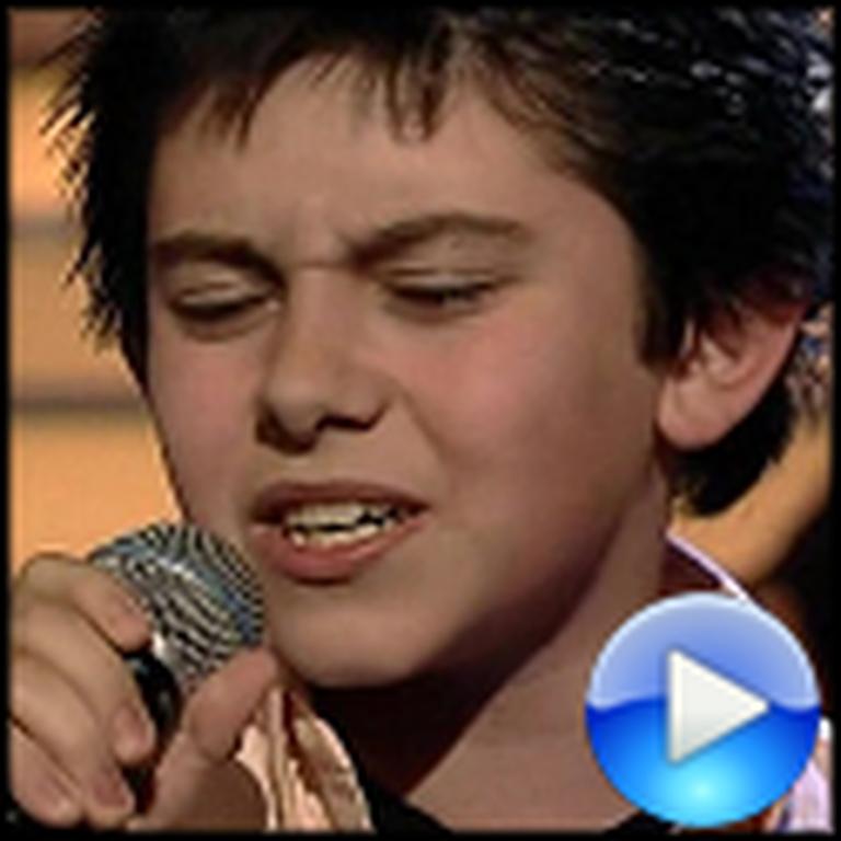 Declan Galbraith Sings an Amazing Version of Angels