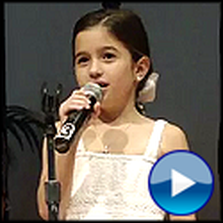 7 Year Old Marleigh Miller Sings Amazing Grace