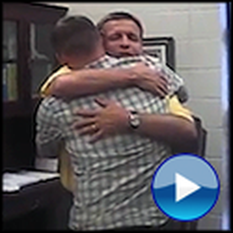 A Soldier Reunion That Will Really Touch Your Heart