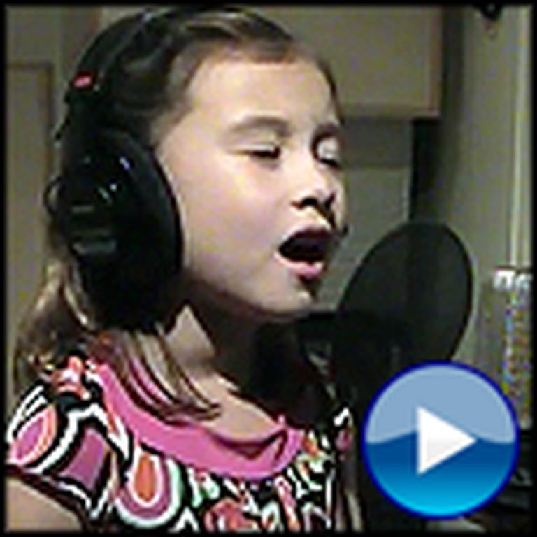 7 Year Old Rhema Marvanne Sings O Holy Night