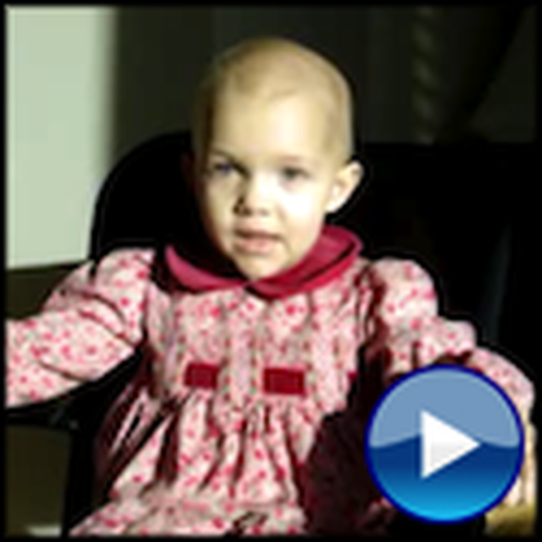 3 Year Old Cancer Victim Tells the Story of Christmas