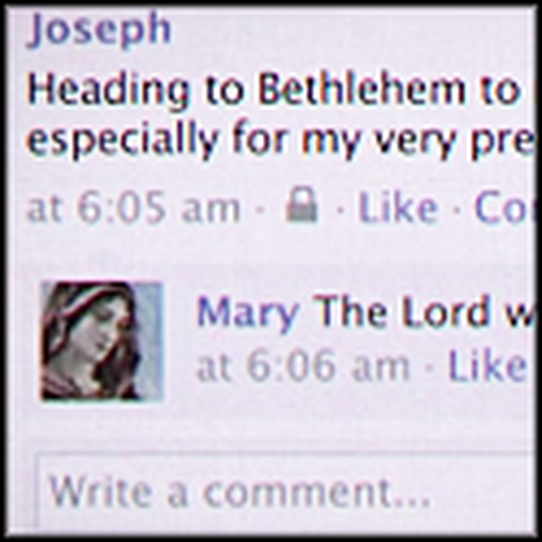 Imagine If Mary and Joseph Had Facebook