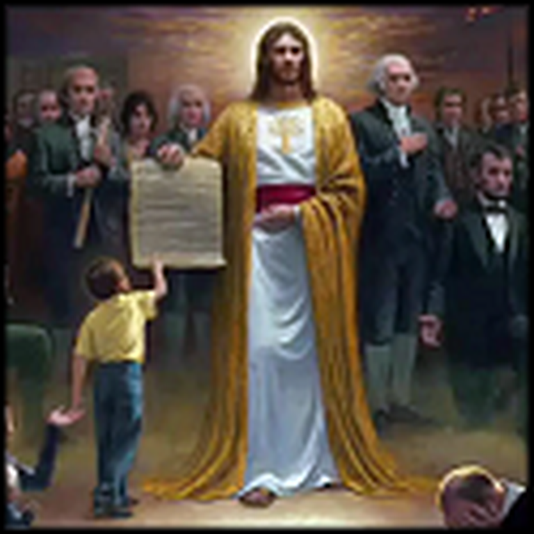 One Nation Under God - a Meaningful Painting by Joe McNaughton