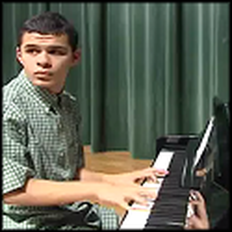 Boy with Autism Can Play Any Song He Hears