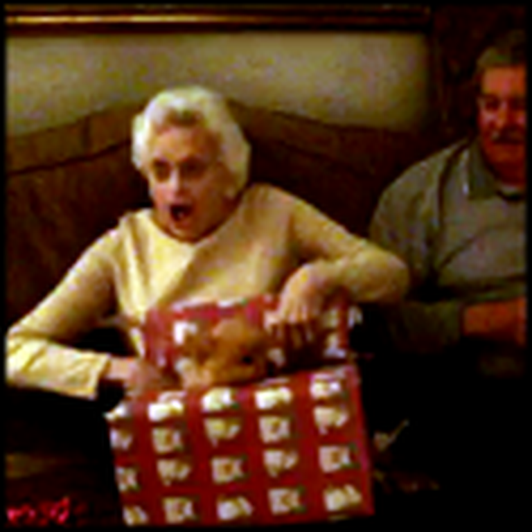 The Happiest Moment - Grandma Gets a Huge Surprise