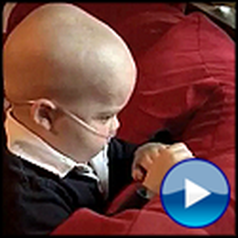 4 Year Old Boy With Cancer Gets His Final Wish