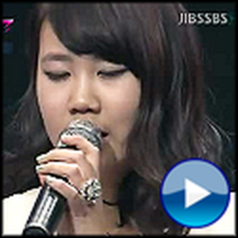 Girl Blows Away a Korean Talent Show with I Believe I Can Fly