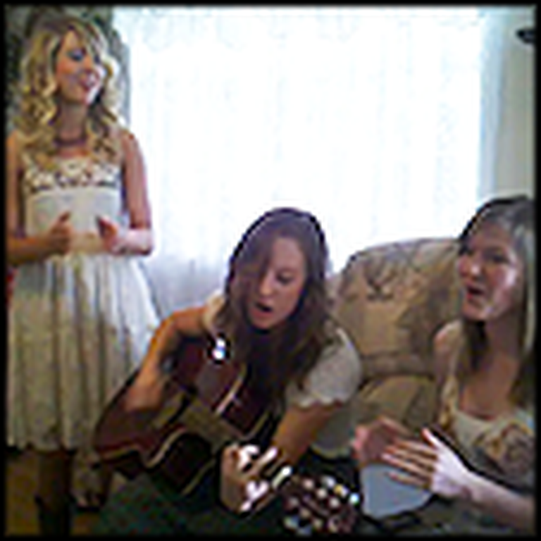 Three Girls Sing a Cover of Hold Me - Very Catchy