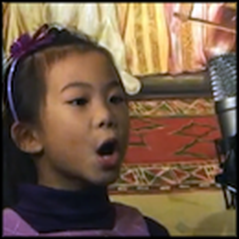 You Raise Me Up by a 5 Year Old Girl - Your Heart Will Melt