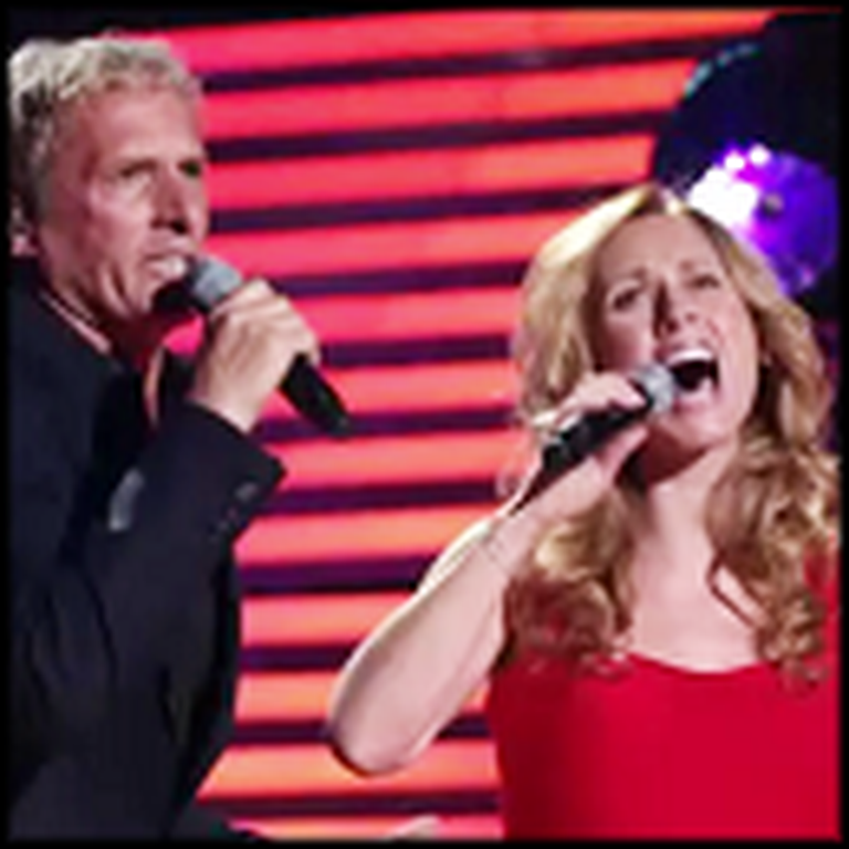 Lara Fabian and Michael Bolton's Amazing Duet - The Prayer
