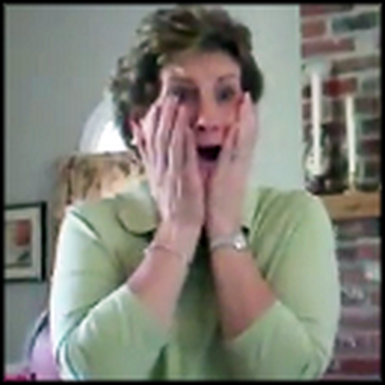 Daughter Surprises Mom That She's Pregnant - Hilarious Reaction