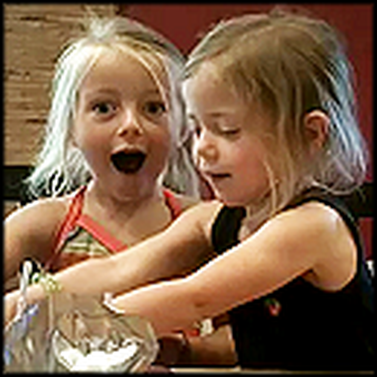 Two Girls Learn How to Say Popsicle - Maybe the Cutest Video Ever