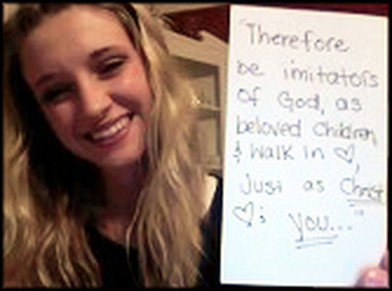 Girl's Moving Video About How God Changed Her Life
