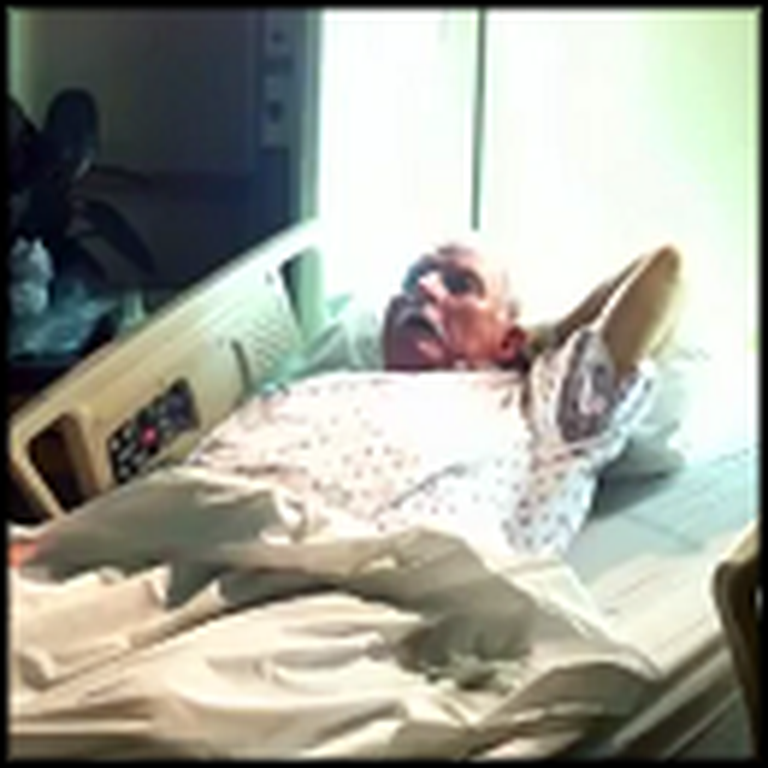 Man Leaves a Message of Faith Behind on his Death Bed