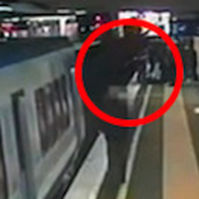 Teen Leaps in Front of a Train to Save an 80 Year Old Woman