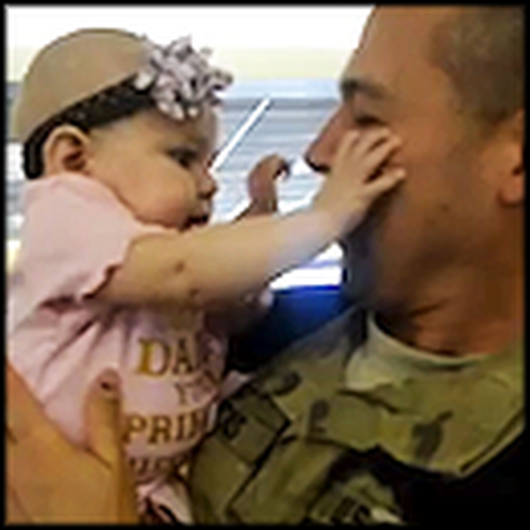 Soldier Surprises his 6 Children One by One - Touching Reactions