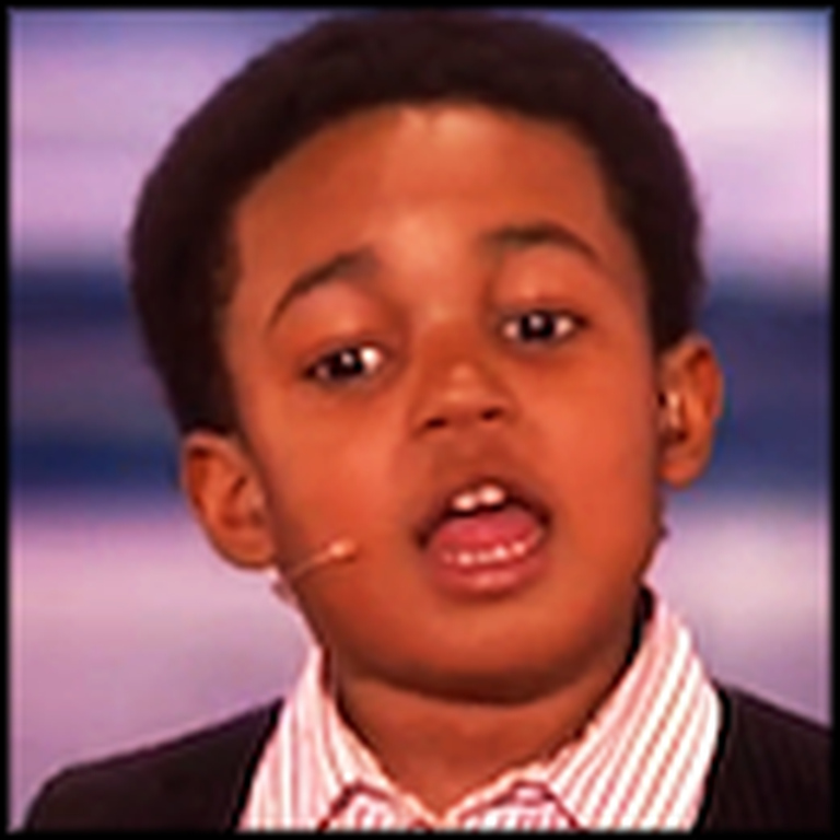 Adorable Six Year Old Wows America's Got Talent Judges