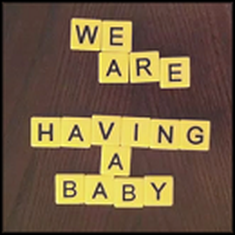 Couple Creatively Uses Bananagrams to Announce Pregnancy