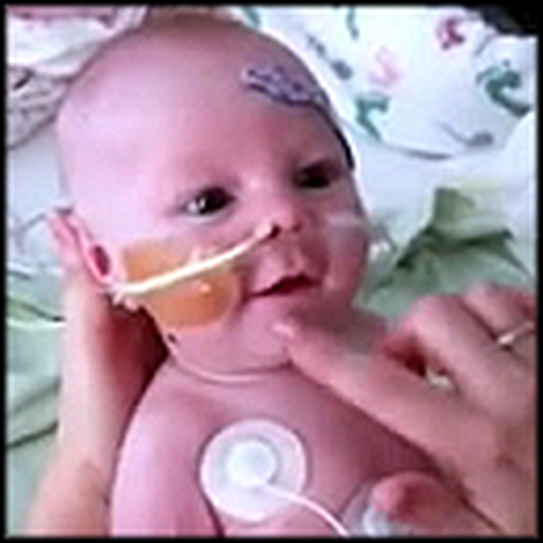 Baby in Need of a Heart Finds Her Adorable Smile
