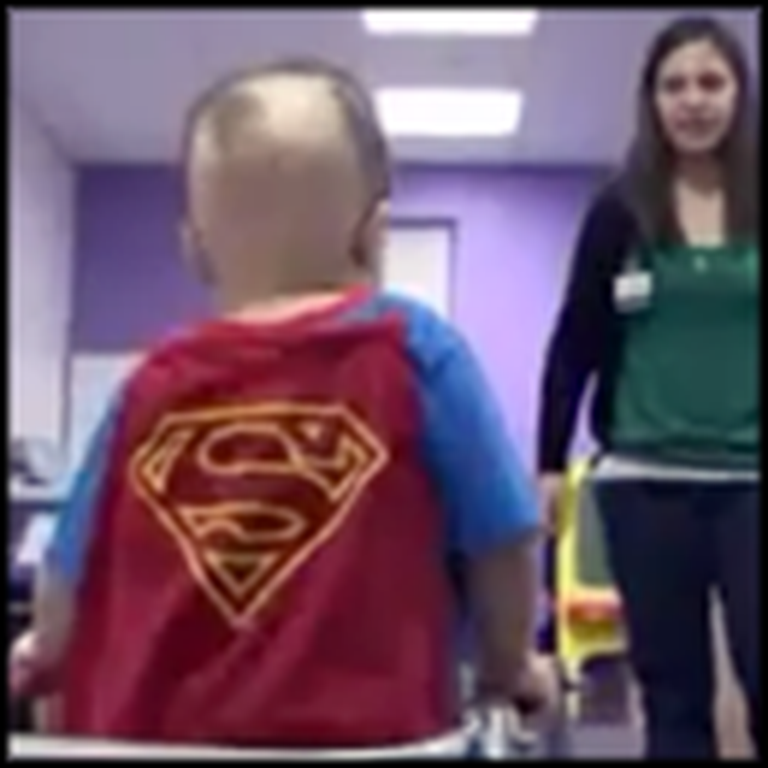 Meet Super Jake, the 3 Year Old Who Continues to Defy All Odds