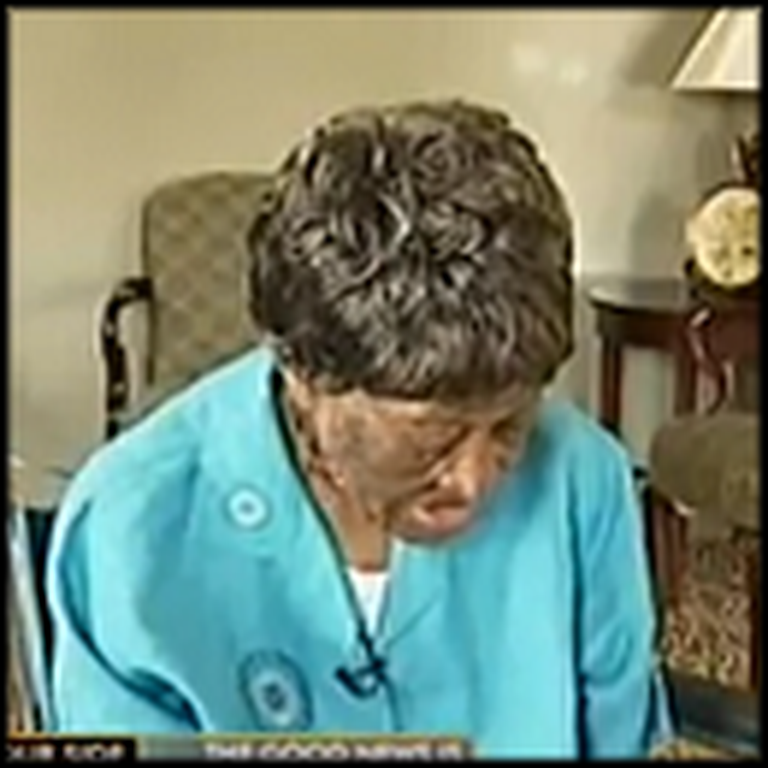 103 Year Old Woman That Still Loves to Sing Gospel Music